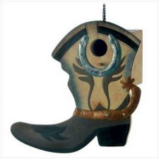 Buy Western Boot Birdhouse