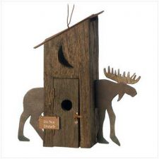 Buy Moose Hut Birdhouse