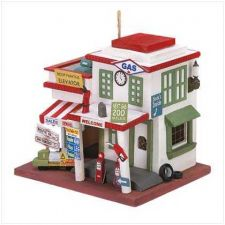 Buy Gas Station Birdhouse