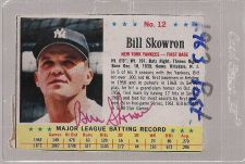 Buy 1963 Post MOOSE SKOWRON autographed card