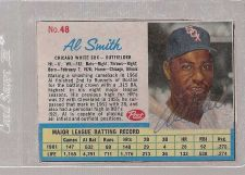 Buy 1962 Post AL SMITH autographed card