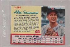 Buy 1962 Post ALEX GRAMMAS autographed card