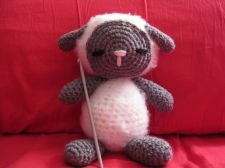 Buy Albert the Sleepy Sheep Amigurumi