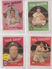 Buy 1959 Topps Tito Francona #268 Tigers VG-EX