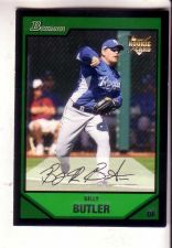 Buy Billy Butler 2007 Bowman Draft Picks ROYALS ROOKIE BDP30 MT