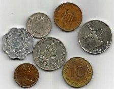Buy COIN LOT 6 - E Carribean States, Australia, Germany, England, Arab Emigrates