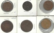 Buy COIN LOT 2 - 6 coins from England, Canada & Guatemala