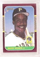 Buy 1987 Donruss Opening Day BARRY BONDS #163 NM-MT