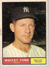 Buy 1961 Topps WHITEY FORD #160 Yankees VG-EX