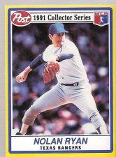 Buy 1991 Post NOLAN RYAN #17 Rangers Mint