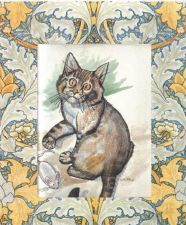 Buy Charming Kitty Cat Get Well Card