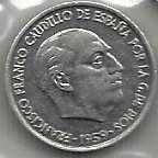 Buy Spain 10 CENTIMOS 1959