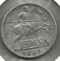 Buy Spain 10 CENTIMOS 1945