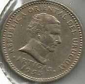 Buy Uruguay 10 CENTIMOS 1955