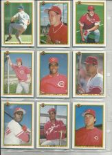 Buy CINCINNATI REDS 7 BASEBALL ALL BOWMAN CARDS