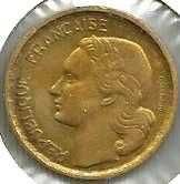 Buy 1955 French Ten (10) Franc Coin in Excellent Condition