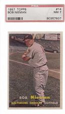 Buy 1957 Topps #14 Bob Nieman PSA 7