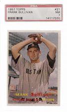 Buy 1957 Topps #21 Frank Sullivan PSA 7