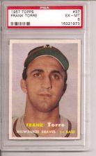 Buy 1957 Topps #37 Frank Torre PSA 6