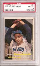 Buy 1957 Topps #74 Vito Valentinetti PSA 6