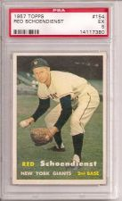 Buy 1957 Topps #154 Red Schoendienst HOF PSA 5