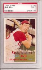 Buy 1957 Topps #180 Gus Bell PSA 7
