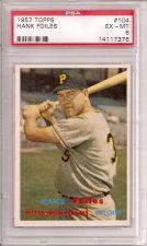 Buy 1957 Topps #104 Hank Foiles PSA 6