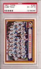 Buy 1957 Topps #183 Cubs Team PSA 6