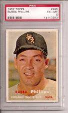 Buy 1957 Topps #395 Bubba Phillips PSA 6