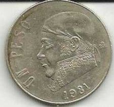 Buy Mexico 1 Peso 1981 coin