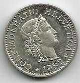 Buy Switzerland 10 Rappen 1982
