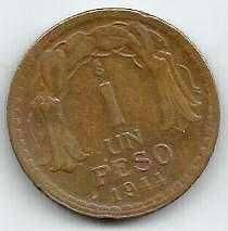 Buy Chile 1 Peso 1944 WWII Currency