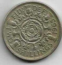 Buy 1965 Great Britain 2 Shillings