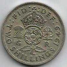 Buy 1949 Great Britain 2 Shillings