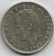 Buy Spain 25 PESETA 1980