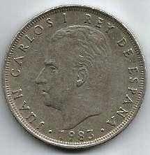 Buy Spain 25 PESETA 1983