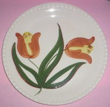 Buy Blue Ridge Southern Pottery- Dutch Tulip Luncheon Plate