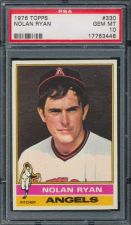 Buy 1976 Topps #330 Nolan Ryan PSA 10 POP 1 of 6