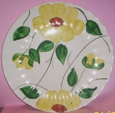 Buy Blue Ridge Southern Pottery-- Sunflower Dinner Plate