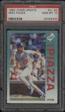Buy 1992 Fleer Update RC Rookie #U-92 Mike Piazza PSA 10
