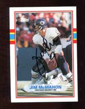 Buy JIM McMAHON AUTOGRAPH SIGNED 1989 TOPPS BEARS