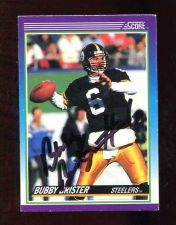 Buy BUBBY BRISTER AUTOGRAPH SIGNED 1990 SCORE STEELERS