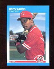 Buy 1987 Fleer Barry Larkin RC # 204 Reds MINT