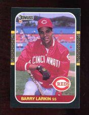 Buy 1987 Donruss Barry Larkin RC # 492 Reds MINT