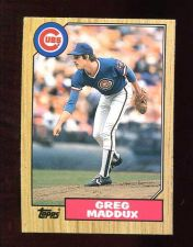 Buy 1987 Topps Traded Greg Maddux RC # 70T Cubs MINT