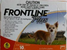 Buy Frontline Plus Small Dogs up to 22lbs 0-22lbs Merial 6 Months