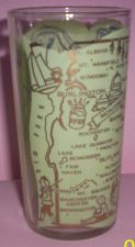 Buy 1960's Retro Hazel Atlas-- Souvenir Glass- Vermont