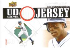 Buy Curtis Granderson 2010 UD GAME USED JERSEY UDGJ-CG