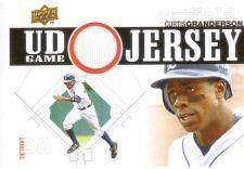 Buy Curtis Granderson 2010 UD GAME USED JERSEY UDGJ-CG