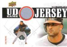 Buy Nick Markakis 2010 UD GAME JERSEY UDGJ-NM
